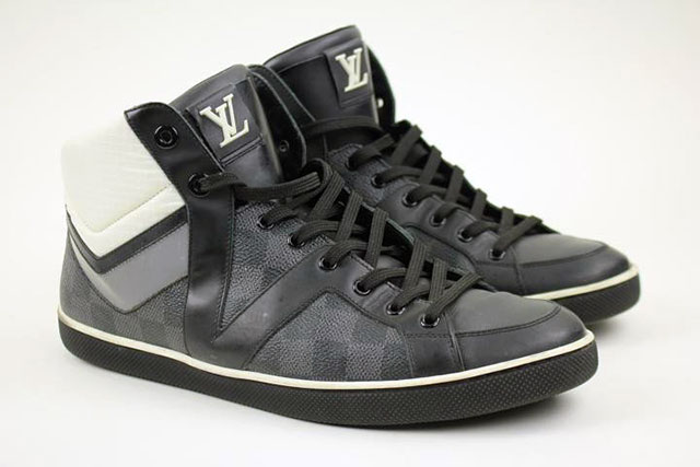 Louis Vuitton Damier high-tops