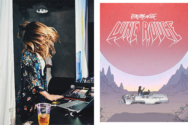 TOKiMONSTA and Lune Rouge album cover