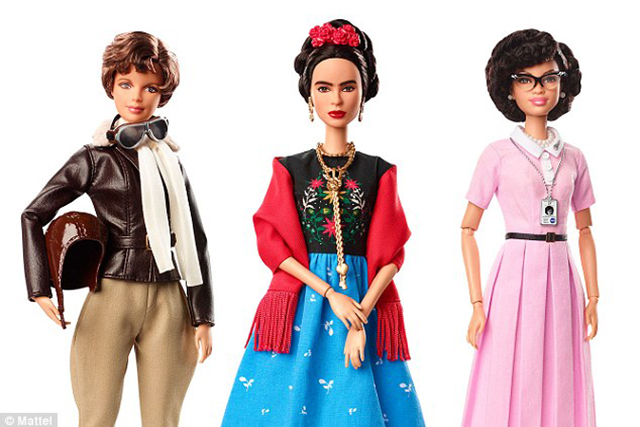 Inspiring Women Barbies. Image: Mattel