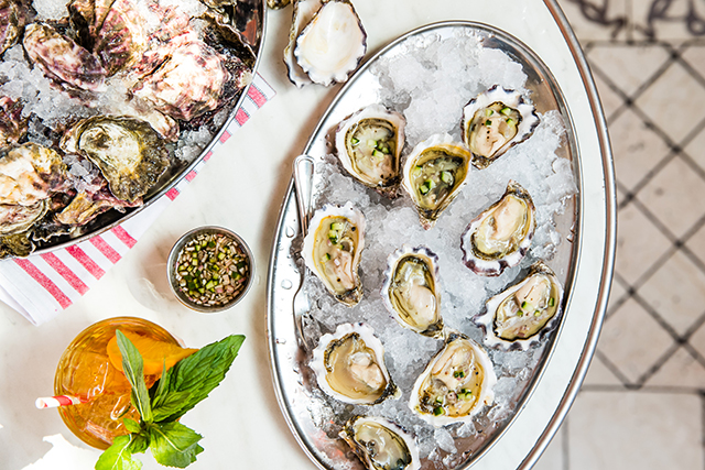Pimm's Oyster House. Image: Nikki To