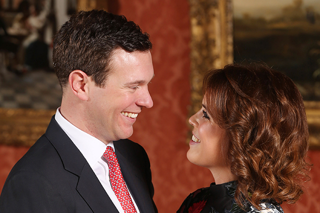 Princess Eugenie official engagement snap. Image; Getty, photo Jonathon Brady/PA Images