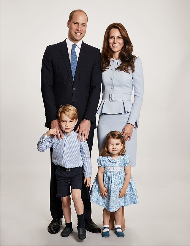 The Royal Family have released their adorable Christmas card photo