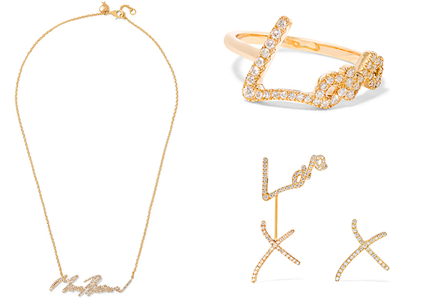 So much love  this Tracey Emin jewellery collab is gold, Buro 24 7 ... 586a50d32b1