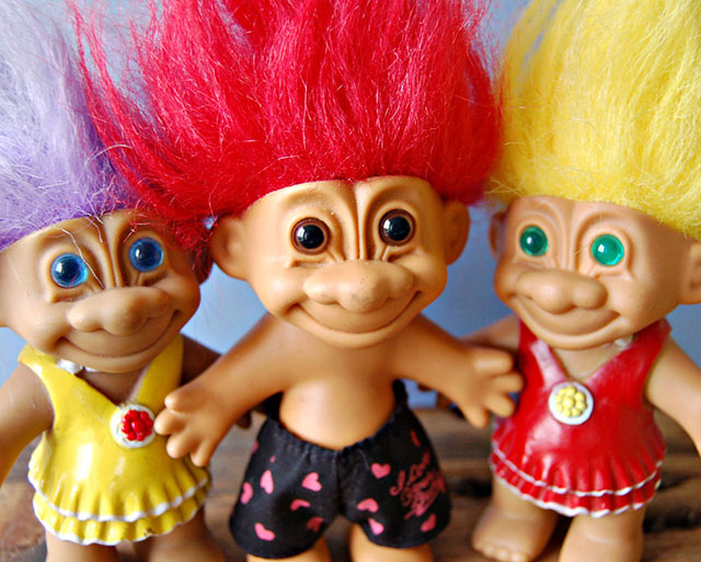 M.A.C is bringing back the Troll dolls of your childhood