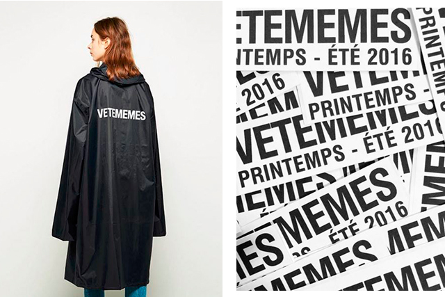 Meet Vetememes, the parody of fashion's hottest label