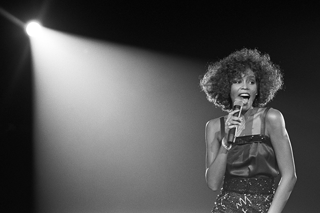 "Movie still from 'Whitney ""Can I Be Me""'"