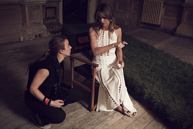 Behind the scenes: Prince Harry's ex Cressida Bonas dances for Mulberry (фото 4)