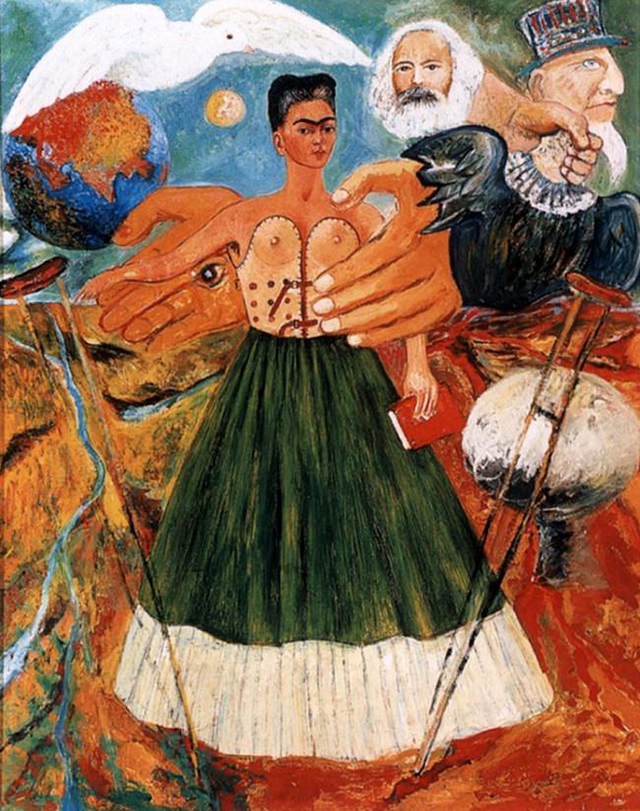 'Marxism Will Give Health to the Ill' (1954) - Frida Kahlo