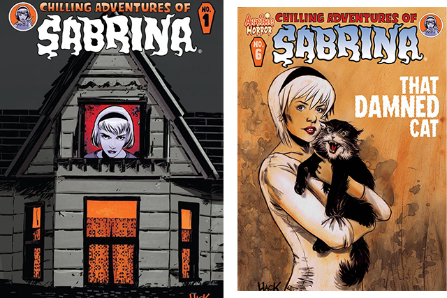 The Chilling Adventures of Sabrina comics