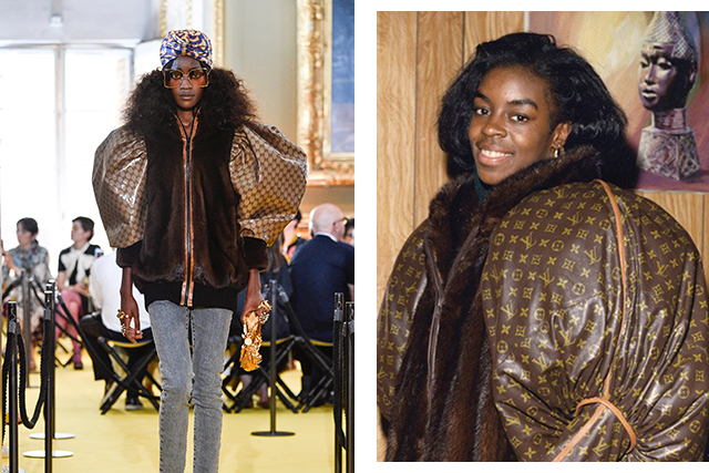 Gucci cruise 2018 vs Diane Dixon 1989