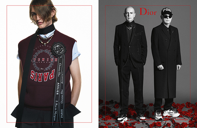 Dior Homme is popping up somewhere very familiar (фото 1)