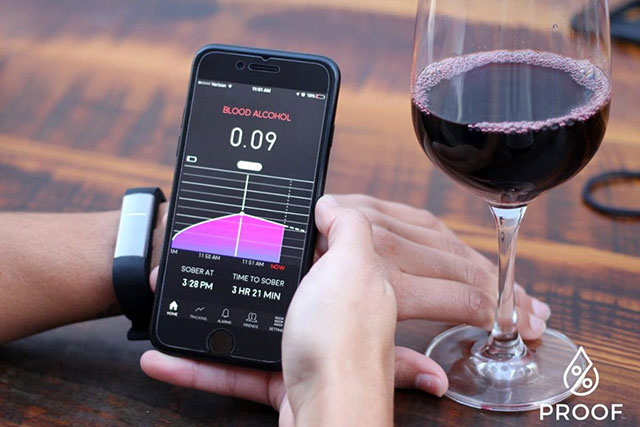 100% proof: 'Fitbit for alcohol' tells you how drunk you are