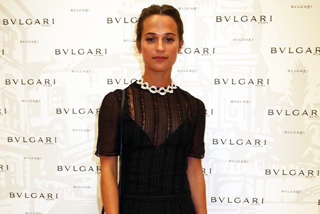 Alicia Vikander on females in film and what she finds sexy