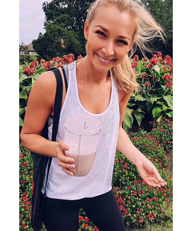 Anna Heinrich on a healthy life, diet and make-up obsessions