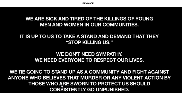 #BlackLivesMatter: Beyonce, Jay Z, Drake and more call fans to action (фото 1)