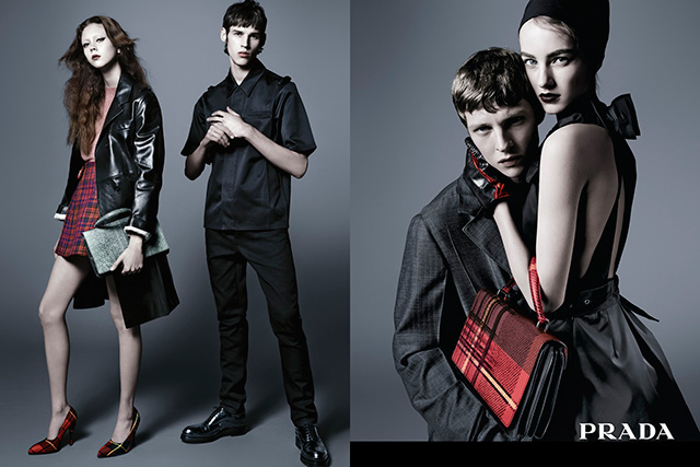 Another Aussie model rules the new Prada pre-fall campaign (фото 2)