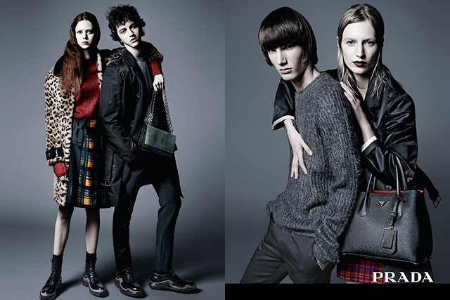 Another Aussie model rules the new Prada pre-fall campaign (фото 1)