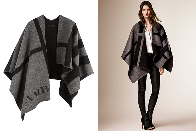 Seasonal update: 11 reasons we still love the Burberry poncho (фото 2)