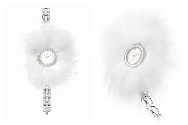 Brrr: check out Fendi's new cold weather-appropriate watch