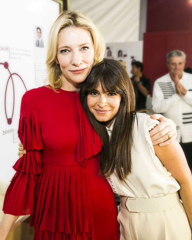 Women on top: when Miroslava Duma met Cate Blanchett (фото 3)