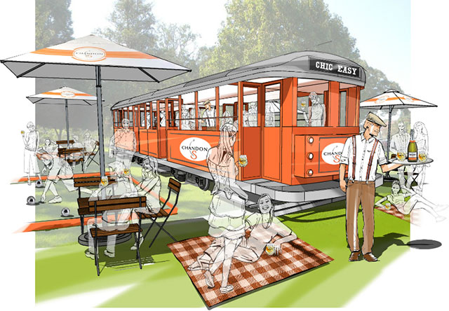All aboard! A pop-up bar in a tram is coming to Australia