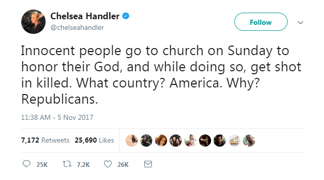 """Absolutely heartbroken"": celebrities respond to the Texas church shooting (фото 3)"