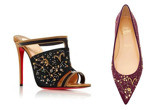 Christian Louboutin's new shoe collab is written in your stars