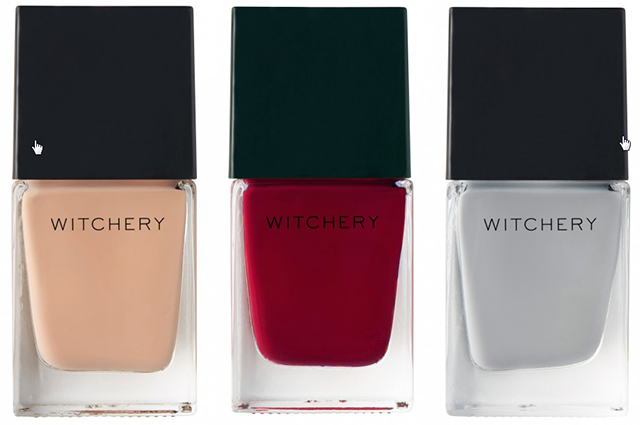 Just bitten: Witchery's moody beauty looks for winter