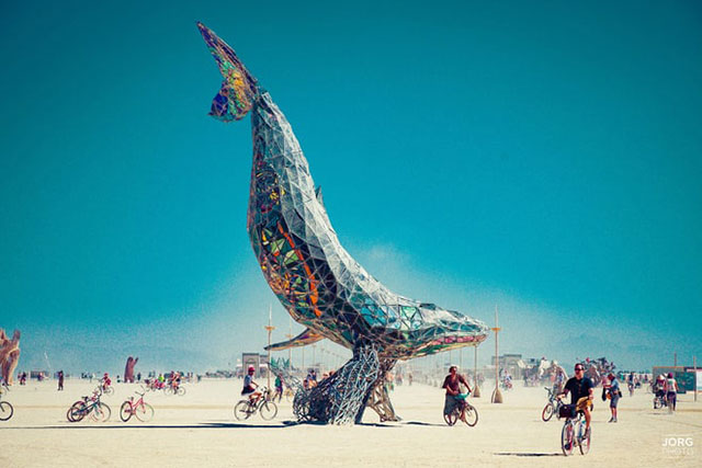Desert Daze: the mind-bending art you missed at Burning Man (фото 5)