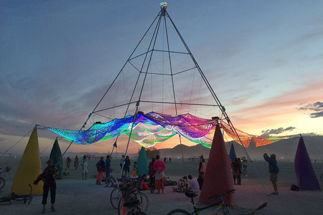 Desert Daze: the mind-bending art you missed at Burning Man (фото 4)