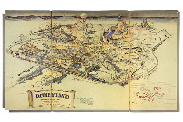 The original Disneyland map sold for how much?!