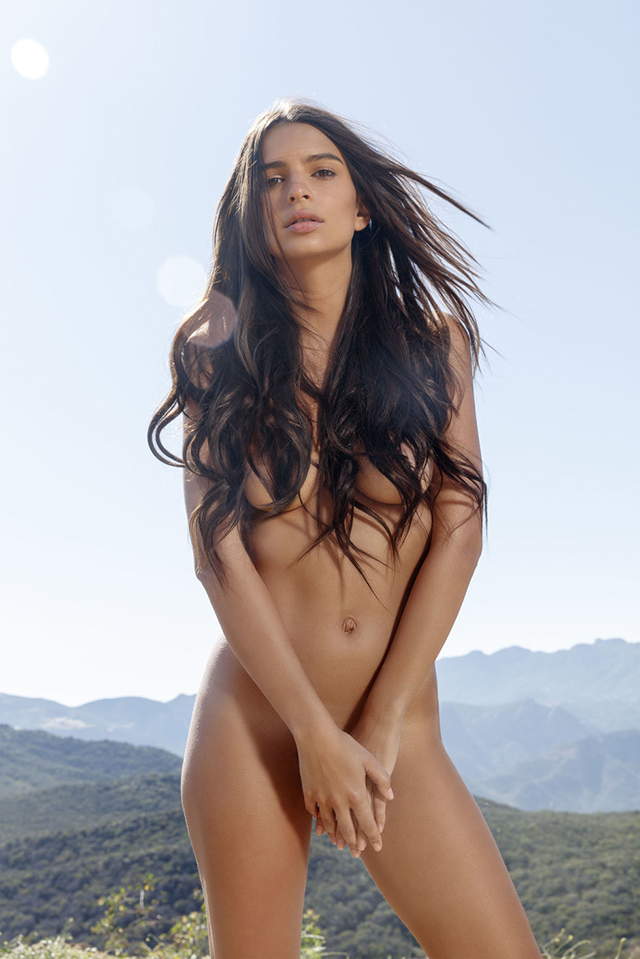 Emily Ratajkowski poses nude and gets all feminist again