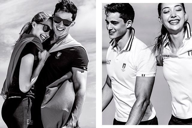 Emporio Armani does the Olympics! See the sexy shots