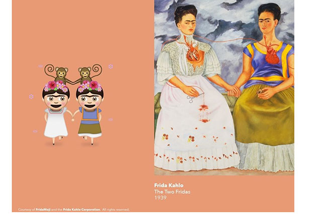 Art beat: Frida Kahlo now has her own set of emojis (фото 2)