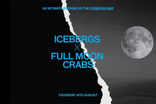 Icebergs is hosting a Full Moon feast next week (фото 1)