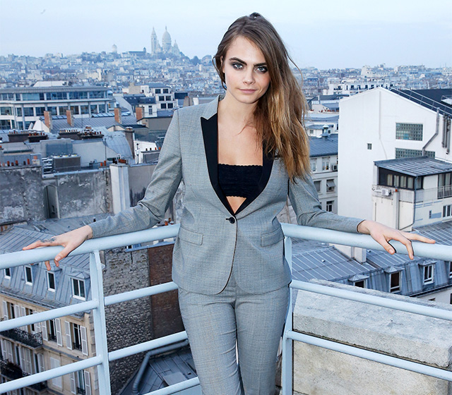Cara Delevingne on being rejected and how she struggles to stay skinny (фото 1)