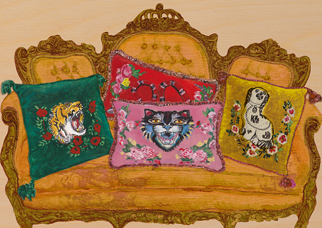 Now you can match your Gucci bag to your wallpaper