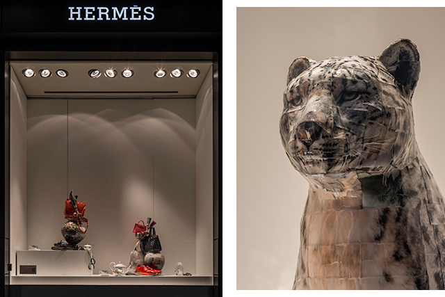 Picture this: Gwon Osang takes over Hermès Sydney's windows (фото 6)