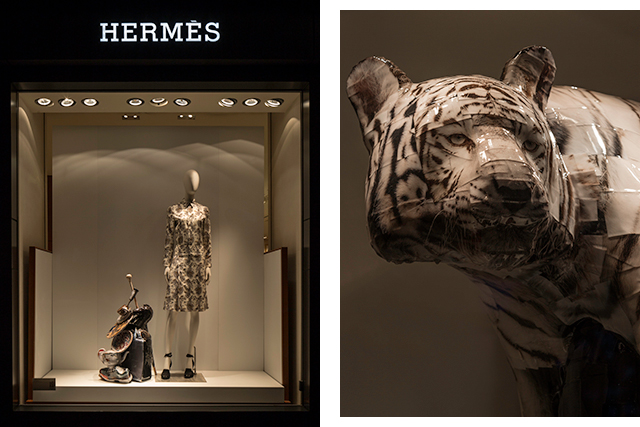 Picture this: Gwon Osang takes over Hermès Sydney's windows (фото 3)
