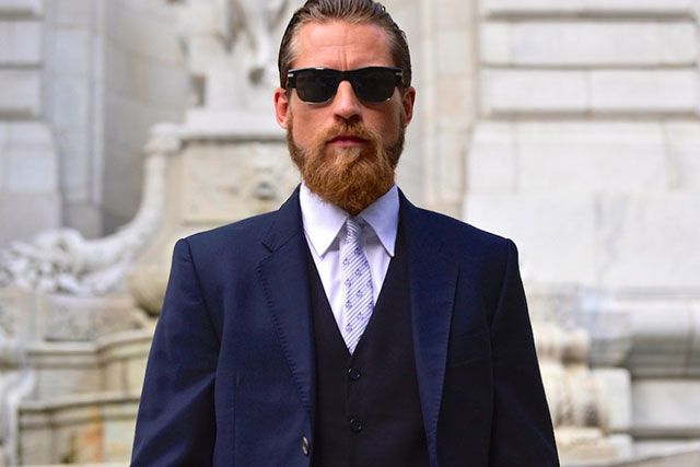 Justin O'Shea, formerly of Brioni