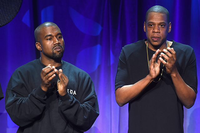 Is the friendship between Kanye and Jay-Z on the rocks? (фото 1)