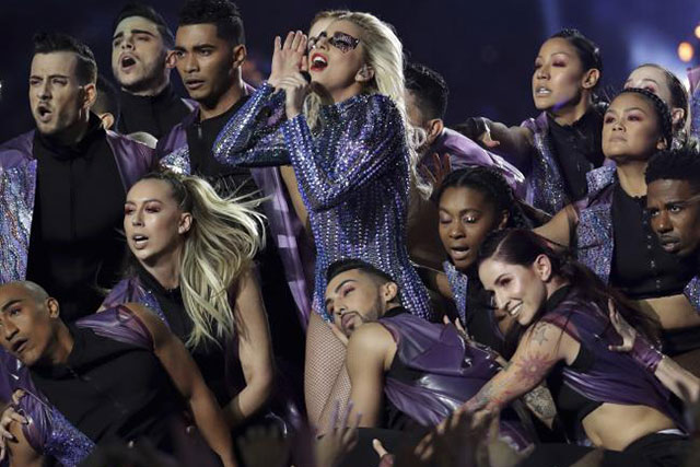 Going Gaga: Was this the best Super Bowl performance ever? (фото 1)