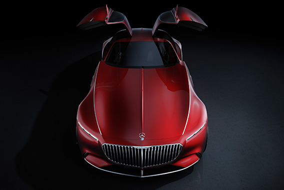 Sexy and sleek: Vision Mercedes-Maybach 6 electric coupe is now a reality (фото 4)