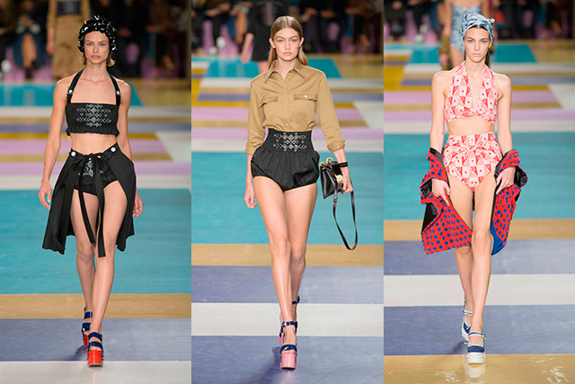 Paris Fashion Week: Louis Vuitton and Miu Miu farewell S/S '17