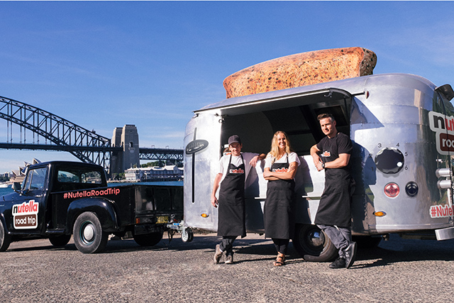 A FREE Nutella food truck is driving through Sydney and Melbourne!