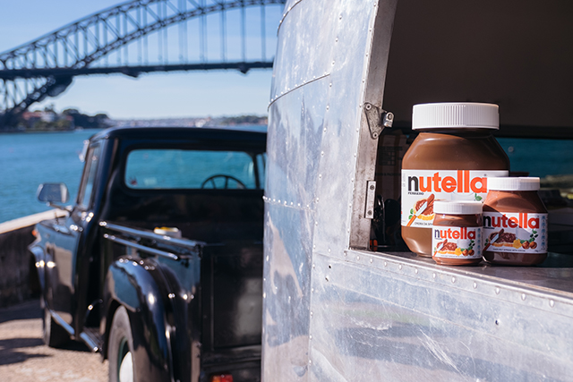 A FREE Nutella Food Truck Is Driving Through Sydney And Melbourne