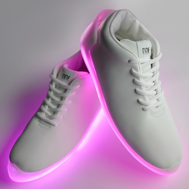 Into the light: illuminated sneakers by Orphe