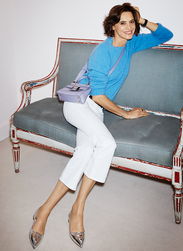 Top Style icon Ines de la Fressange on the French approach to fashion  GE63