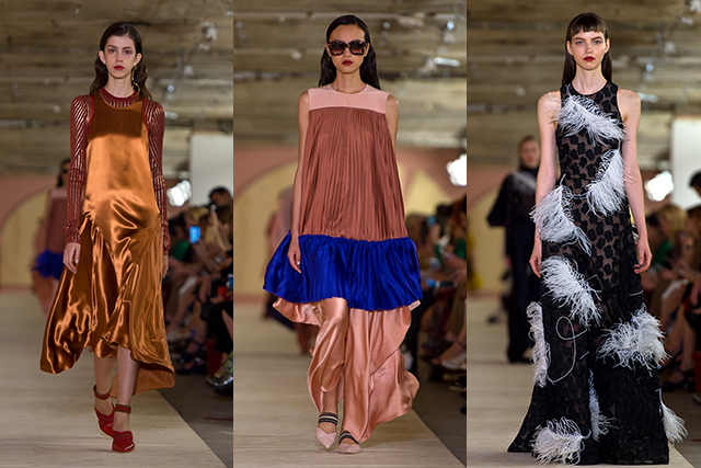LFW recap: a colourful tour through history (фото 1)