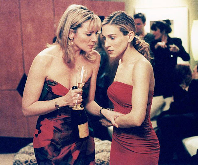 A complete history of Sarah Jessica Parker and Kim Cattrall's off-screen drama (фото 1)